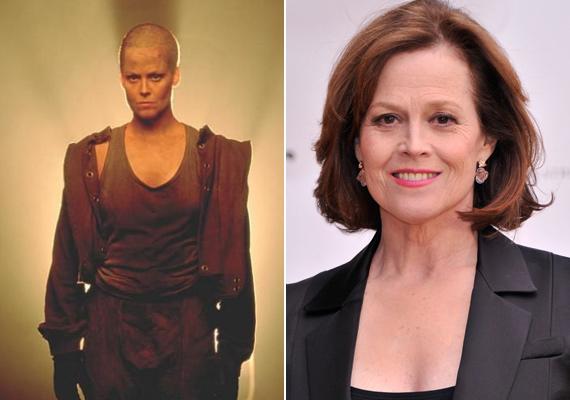 Sigourney Weaver az Alien-széria harmadik része miatt kényszerült hajvágásra - érdekes módon többek szerint sokkal fiatalosabb és dögösebb volt haj nélkül.