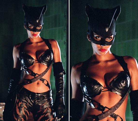 A 48 éves Halle Berry 2004-ben játszotta el a Macskanő szerepét ebben a lenge és vagány bőrszerelésben.