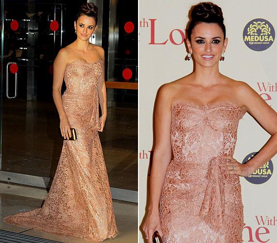 Áprilisban, a film római premierjén meseszép Dolce&Gabbana estélyiben fotózták.