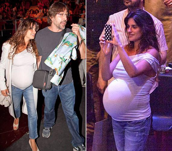 Férjével, Javier Bardemmel nagyon várták második gyermeküket.
