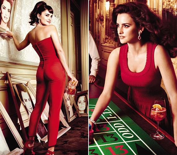Az Oscar-díjas színésznőnek irigylésre méltó az alakja, és igyekeztek az egész fotózás alatt a nőiességét kiemelni.