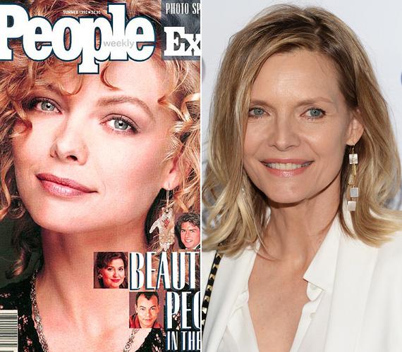 1990-ben Michelle Pfeifferrel indította a People a világ legszebb embere megválasztását, és 1999-ben szintén ő volt az, akivel a világ legszebb nője irányt is elkezdték. 25 évvel ezelőtt az akkor 32 éves színésznő egészen meglepődött, hogy őt ítélték legszebbnek, szerinte úgy néz ki, mint egy kacsa. A sztár mostanában ritkán mutatkozik, utolsó filmje a 2013-as Vérmesék.
