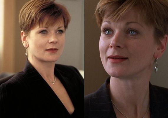 Ő játszotta Miss Moneypennyt, M titkárnőjét a Pierce Brosnan főszereplésével készült James Bond-filmekben.