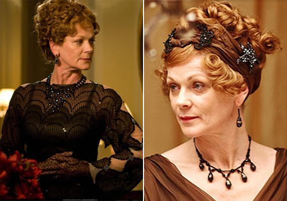 A Downton Abbey-ben is szerepel, Rosamundot játssza. Intrikus karaktere ellenére hamar megszerette őt a közönség.