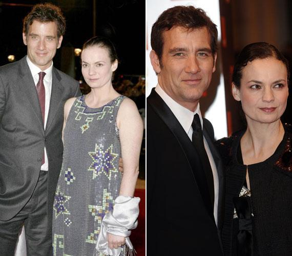 Clive Owen 1995-ben vette feleségül Sarah-Jane Fentont, akivel két lányt nevelnek. A 48 éves angol színész felesége sem tartozik a bombázók közé.