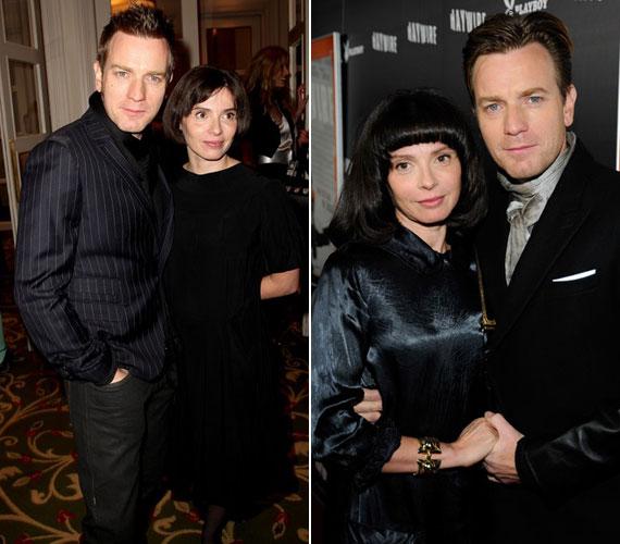 Ewan McGregor 1995-ben vette el a francia designert, Eve Mavrakist, aki négy lányt szült neki. A 42 éves skót színész felesége és gyerekei nevét is magára tetováltatta.
