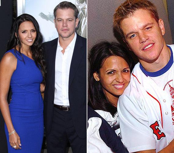 Matt Damon 2003-ban, egy film forgatása során ismerkedett meg az akkor csaposként dolgozó, argentin Luciana Barrosóval. 2005 decemberében keltek egybe, házassági fogadalmukat idén nyáron erősítették meg. Négy lányt nevelnek együtt: három közös, a legidősebb a nő korábbi házasságából született.