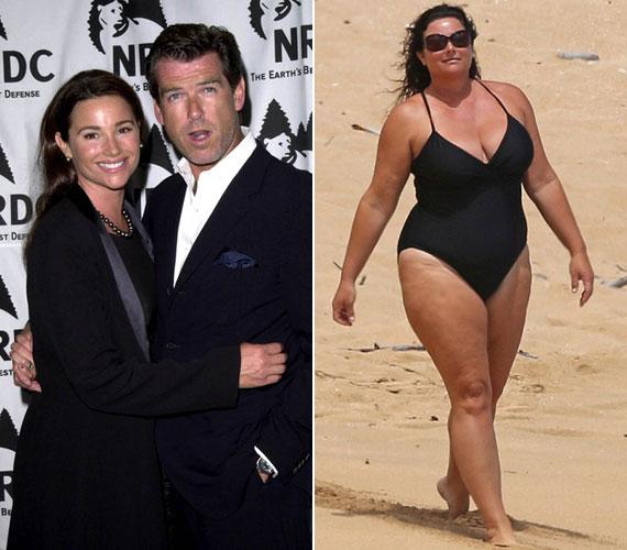 Pierce Brosnan felesége, Keely Shaye Smith a karcsú nők táborába tartozott, amikor a színész megismerte. Mint a legfrissebb strandfotó is mutatja, azóta jócskán kikerekedett, de ez férjét cseppet sem zavarja.