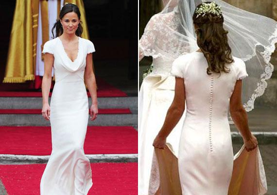 2011-ben, Katalin és Vilmos esküvőjén a lapok sokat cikkeztek Pippa Middleton formás alakjáról, hátsó felét pedig a világ legjobb feneke címmel illették.