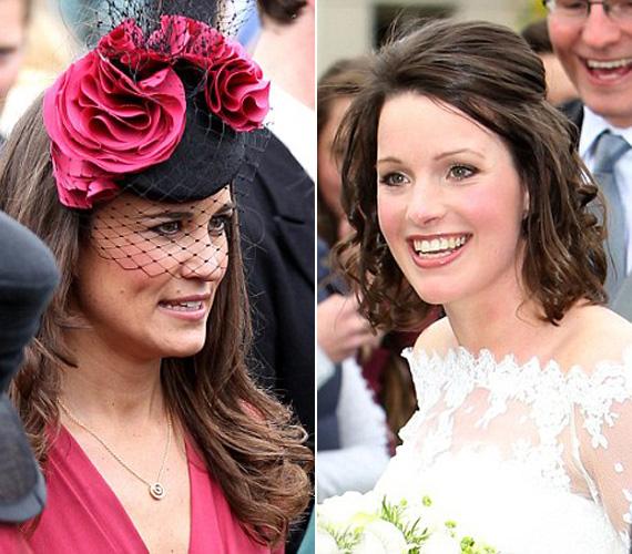 Hiába volt gyönyörű a menyasszony, Pippa feltűnésével magára terelte a figyelmet, az ara jókedvét azonban láthatólag ez sem rontotta el.