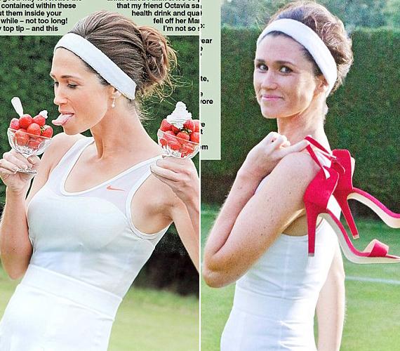 A fotókat Alison Jackson készítette, aki arról híresült el, hogy minden sztárnak megtalálja a pontos hasonmását. A Vanity Fair képein is egy hasonmás látható, bár a szöveget tényleg Pippa írta.