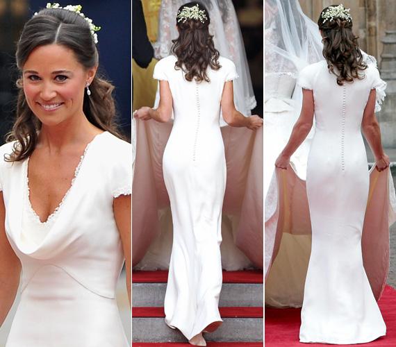 Az egész világot bejárták a fotók, amelyek Katalin és Vilmos 2011. április 29-i esküvőjén készültek a csinos nyoszolyólányról.
