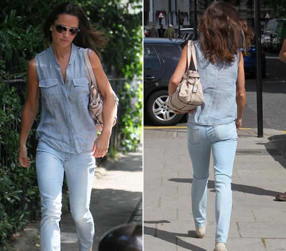 A végén már az sem használt, ha lezser utcai viseletben lépett ki az utcára - a magazinok olvasói így is kíváncsiak voltak a kisebbik Middleton-lányra.
