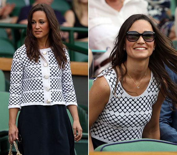 Legutóbb június 28-án, egy teniszmeccsen kapták lencsevégre: akkor is nagyon csinos volt.