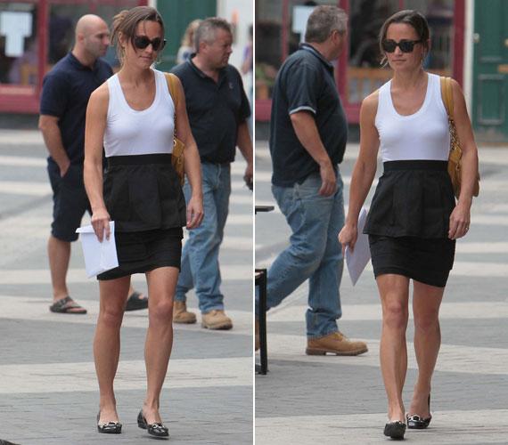 Büszke lehet rá Kate - Pippa Middleton ugyanis legalább olyan vonzó nő, mint testvére, de öltözködési stílusa miatt sem kell aggódnia.