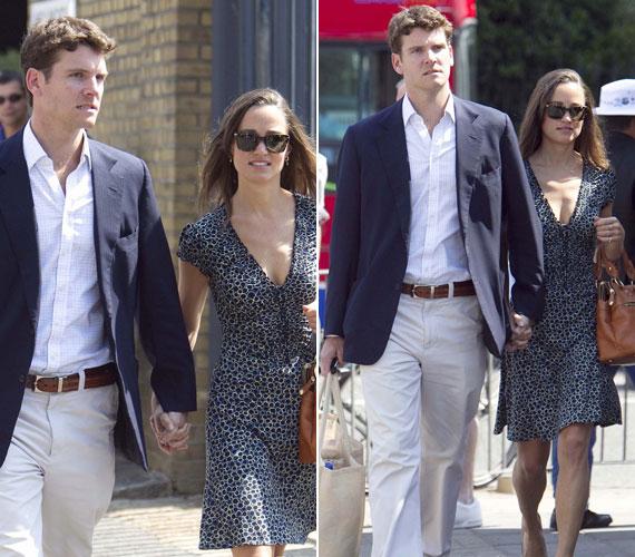 A hírek szerint egyébként a pár már szakított, ennek ellenére most kéz a kézben sétáltak haza a krikettmeccsről.