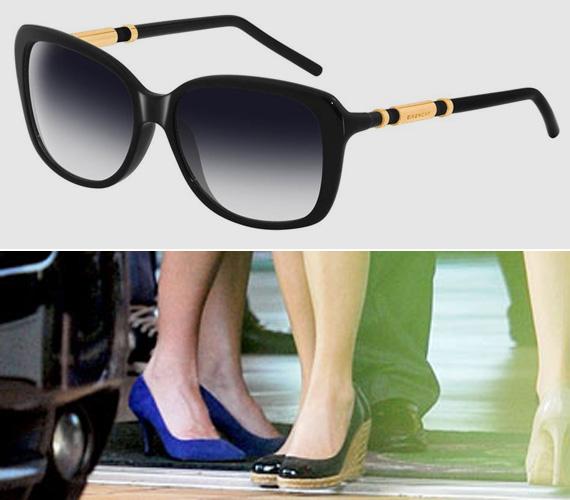 A nagyméretű szemüveg az ASOS, míg a cipő Sam Edelman nevével fémjelzett.