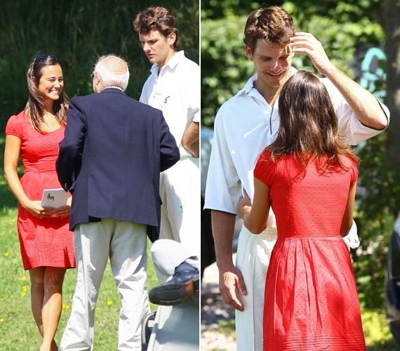 Pár hónapja még arról pletykáltak, hogy a kisebbik Middleton-lány és barátja szakítottak, a friss fotók azonban bizonyítják, hogy a pár boldogsága felhőtlen.