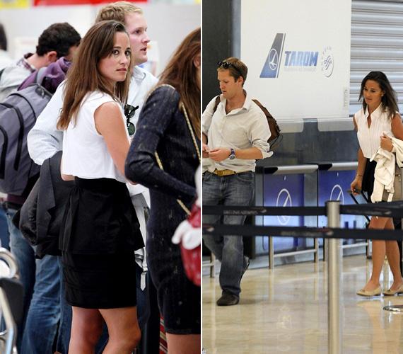 A madridi repülőtéren már tavaly nyáron egy párnak nézték őket.