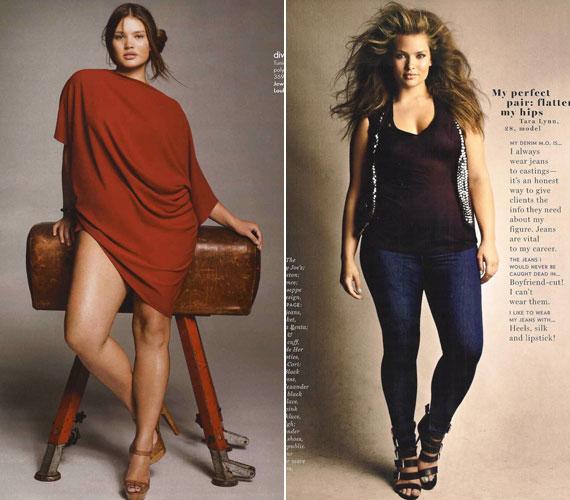 Tara Lynn 2011-ben a H&M extra méretű fürdőruha-kollekcióját reklámozta.