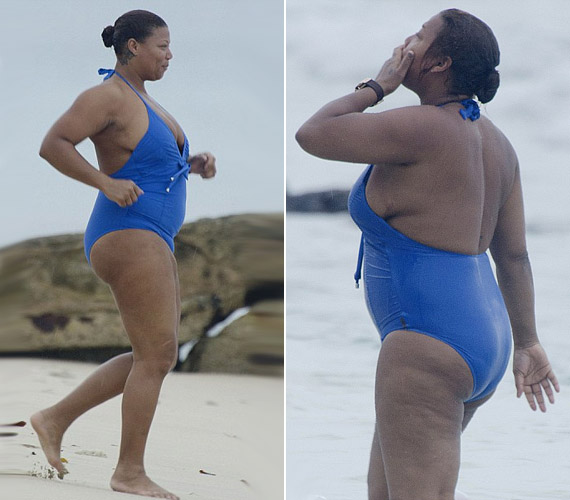 Íme, a bizonyíték: nem csak a karcsú sztárok élvezhetik a strand nyújtotta örömöket.