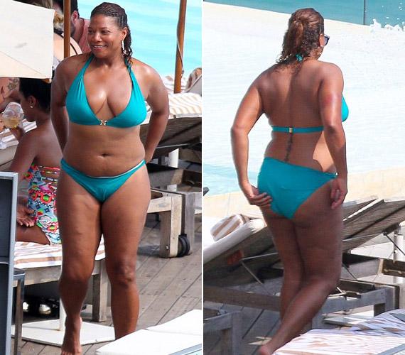 Queen Latifah bevallotta, sokat küzdött a súlyával, mire rájött, boldogabb lenne az élete, ha önsanyargatás helyett elfogadná önmagát.
