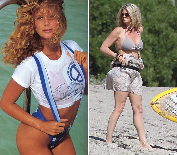 Az egykori szexi világsztár pluszkilókkal is csinos, sokak szerint így is igazi nő.