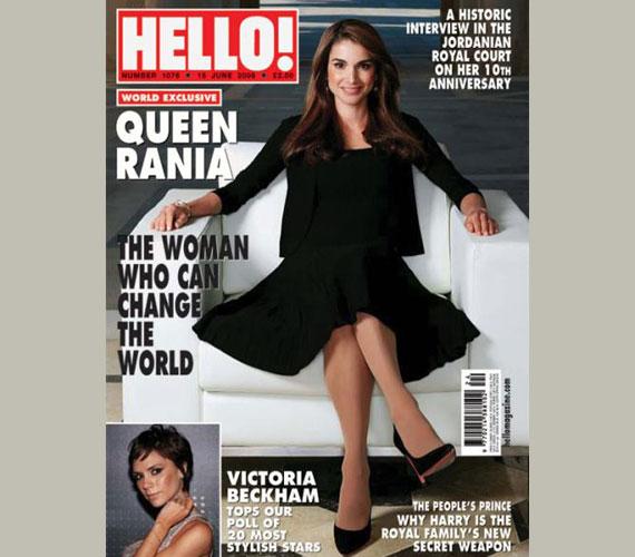 A Hello! magazin 2009 júniusának brit kiadása, de ugyanígy szerepelt a kanadai verzió borítóján is.