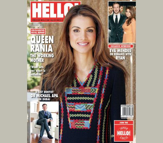 Az Egyesült Arab Emírségekben a Hello! 2013 áprilisában is címlapra tette.