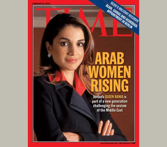 A híres Time címlapján 2004 februárjában.