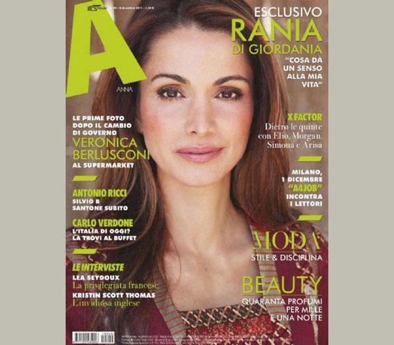 Az olasz A magazin 2011 decemberi számában.