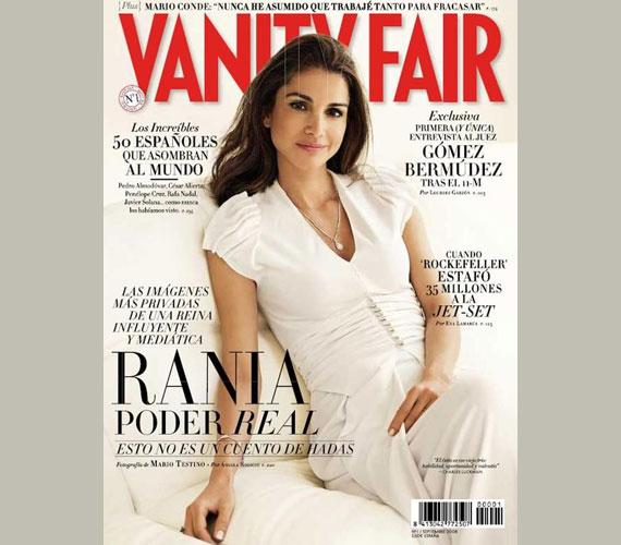 Egyedül is uralta már a Vanity Fair spanyol kiadását 2008 szeptemberében.