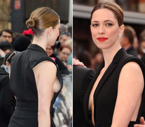 A ruha nem sok mindent bízott a képzeletre, nem csoda, ha a premier után mindenki a színésznőről beszélt - és ezúttal nem a tehetségéről.