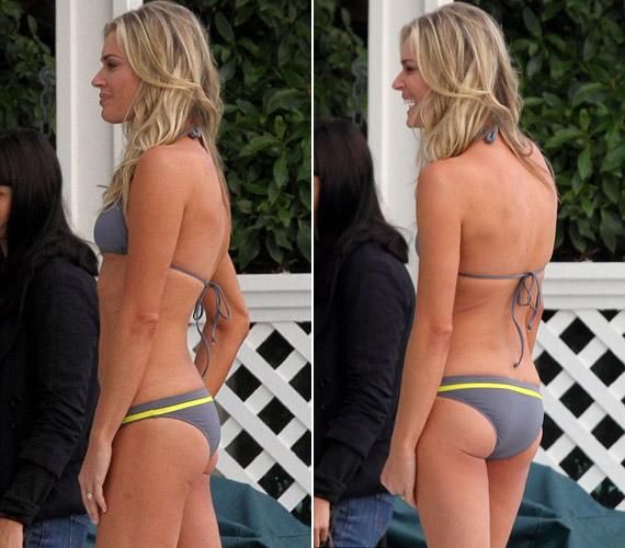 A modellből lett színésznő nem csupán a szerencsés géneknek köszönheti alakját, testét rendszeres futással tartja kondiban.