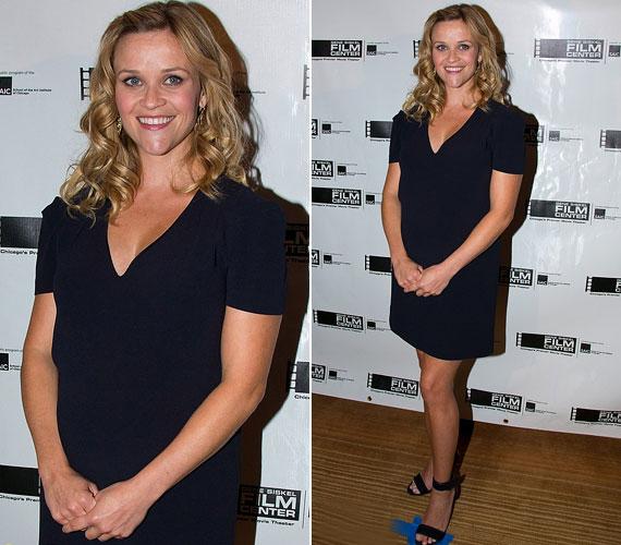 Június 23-án Chicagóban egyszerű Vanessa Bruno ruhában fotózták.