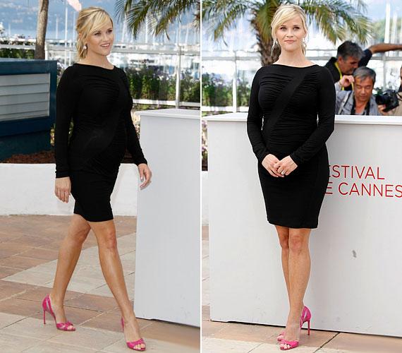 Az idei cannes-i filmfesztiválon fekete Versace ruhában tündökölt.