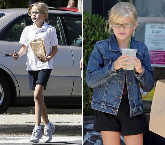 2009 szeptemberében még egy pipaszárlábú kislány volt. Sportos oldalát édesanyjától örökölte, ő is nagyon szeret futni.