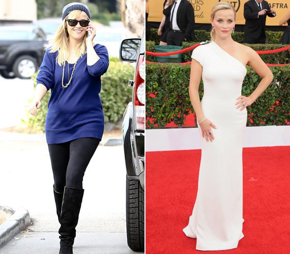 Reese Witherspoon kisfia, Tenessee születése után hosszú ideig bő ruhák alá rejtette kissé megvastagodott alakját. Mostanra azonban már újra a régi. Nézd, milyen gyönyörű volt ebben a fehér ruhában egy idei gálán!