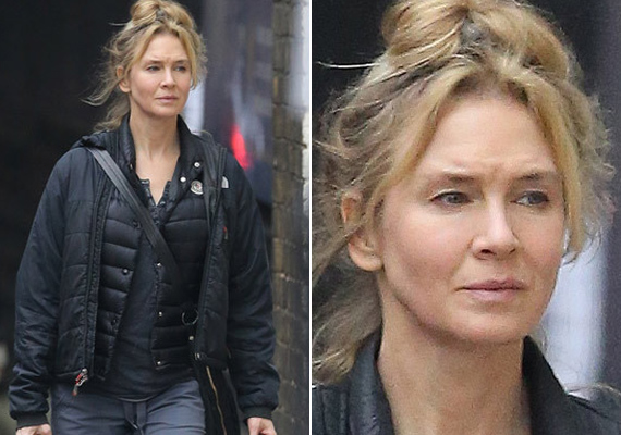 Így néz ki most Renée arca. A plasztika-fiaskó után jó látni, hogy régi Bridgetünket láthatjuk viszont a filmvásznon.