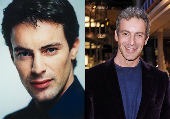15 év alatt szinte semmit sem változott a színész. Csak a haja színén vehetjük észre az idő múlását.
