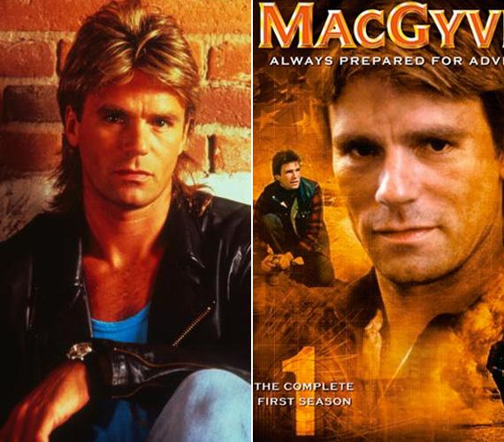 Az összetéveszthetetlen frizurájú Angus MacGyverre mindenki emlékszik, aki látott néhány részt.