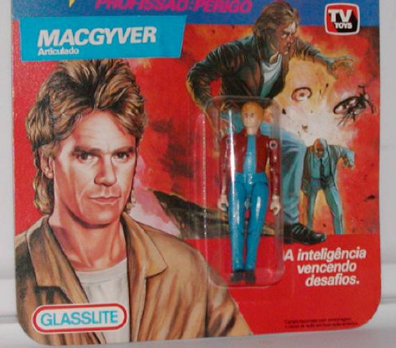 MacGyver még figuraként is kapható volt.