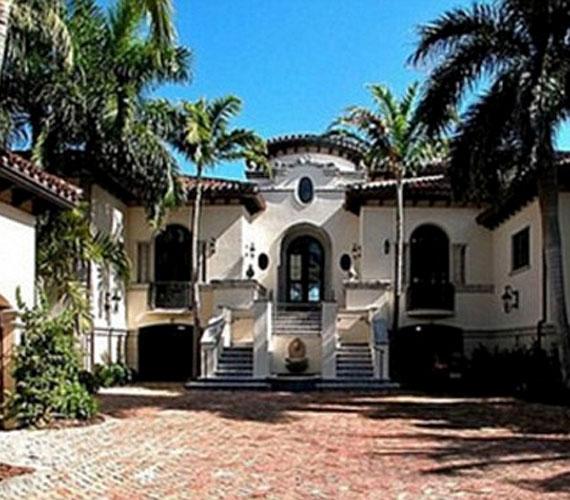 A Miami Beach-i luxusvilla nem akármilyen szomszédsággal büszkélkedhet.