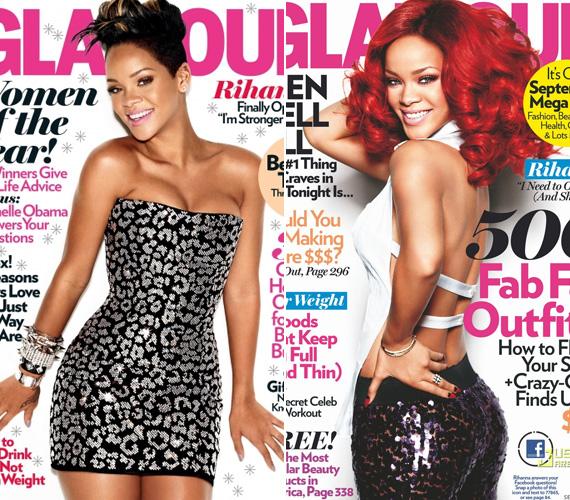 Az énekesnő nem először szerepelt a Glamourban, 2009-ben például ő volt a decemberi, ünnepi címlaplány. Jól látszik, mennyit változott a stílusa azóta.