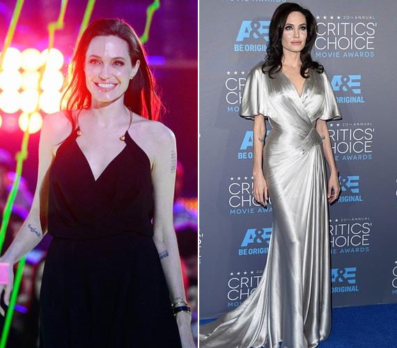 """Angelina Jolie-nak nemcsak édesanyja, de más felmenői is rákban haltak meg, így a színésznő nagyon komolyan odafigyelt arra, hogy vele ez ne fordulhasson elő. 2013 májusában megelőző céllal eltávolíttatta a melleit, történetét a New York Times hasábjain osztotta meg a világgal. Idén márciusban pedig a petevezetékét és a petefészkét műtötték ki a 39 éves színésznőnek. """"Az élet rengeteg kihívást hoz, de nem szabad félni azoktól, amiket irányítani tudunk"""", vallja."""