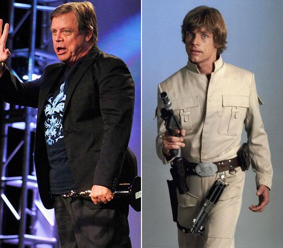 Az egykori Luke Skywalker imádja a chipset és a hamburgert, ami meg is látszik az alakján.