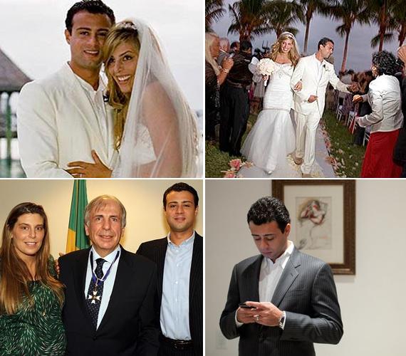 Raphael De Niro három éve vette el kedvesét, a brazil származású Claudine de Matost, a párnak eddig két gyermeke született.