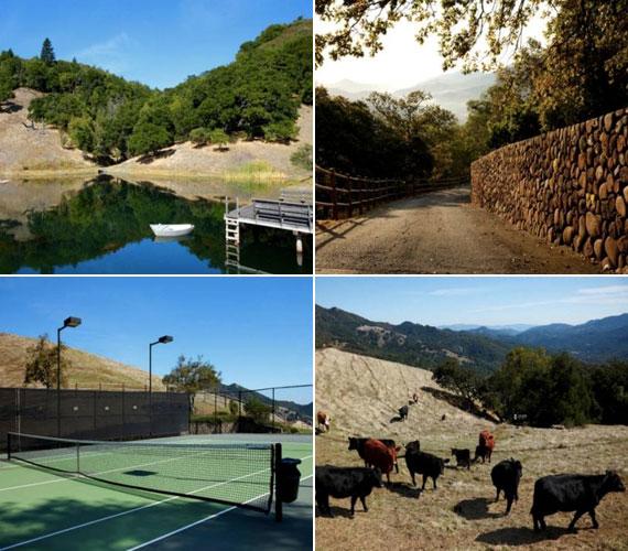 A birtokhoz tartozik egy kis tó és egy teniszpálya is. A birtok kőkerítése mellett kellemes sétákat lehet tenni, de aki akar, szarvasmarhákat is terelhet.