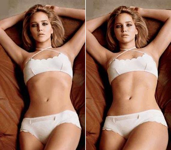 Jennifer Lawrence rendszerint kikéri magának a Photoshopot, mint mondta, csak beteg testképet tanulnak meg a fiatalok a retusált képek miatt.