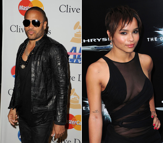 Lenny Kravitz lánya, Zoe fiatal korához képest igen merész ruhákat ölt.